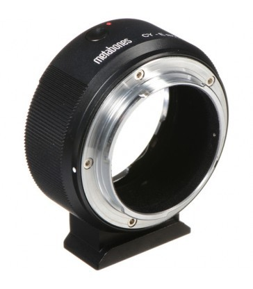 Metabones Contax/Yashica Lens to Sony E-Mount Camera T Adapter (Black)