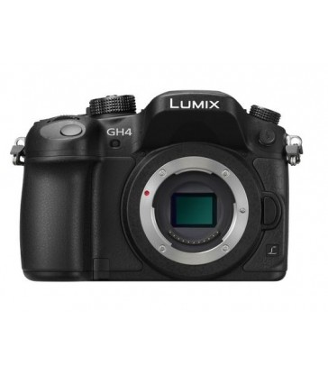 LUMIX GH4 Professional 4K Mirrorless Interchangeable Lens Camera Body Only