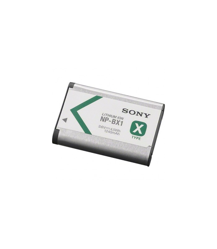 Sony NP-BX1/M8 Rechargeable Lithium-Ion Battery Pack (3.6V, 1240mAh)
