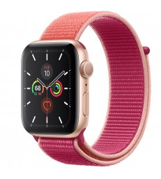 Apple Watch Series 5 Gold Aluminum Case with Sport Loop