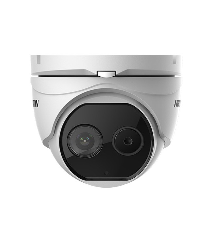 Hikvision DeepinView DS-2TD1217-3/V1 Outdoor Thermal & Optical Network Turret Camera with 3.1mm Thermal Lens