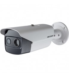Hikvision DS-2TD2615-10 Bispectrum Thermal & Optical Network Bullet Camera with 10mm Thermal Lens