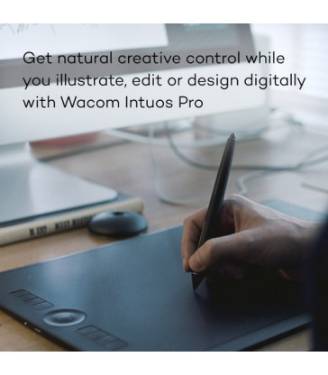 Wacom Intuos Pro Creative Pen Tablet (Medium)