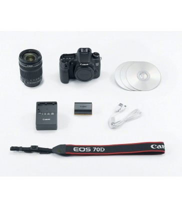 Canon EOS 70D DSLR Camera with 18-135mm STM f/3.5-5.6 Lens