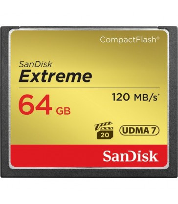 SanDisk 64 GB Extreme CompactFlash Memory Card