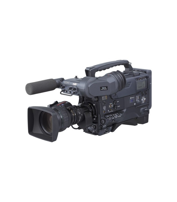 Sony DVW-970 2/3-Inch 3-CCD Digital Betacam Camcorder, Widescreen Switchable, 1000 Horizontal Lines Resolution